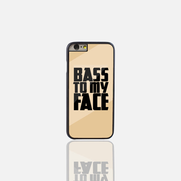 Bass to my Face Gold Phone Case (iPhone 6/6S Plus)