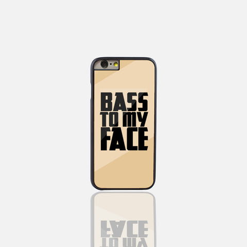 Bass to my Face Gold Phone Case (iPhone 6/6S Plus) - Edmotic - 1