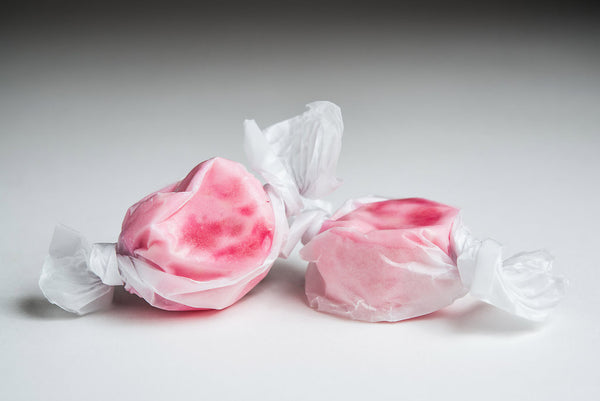 Pomegranate Salt Water Taffy
