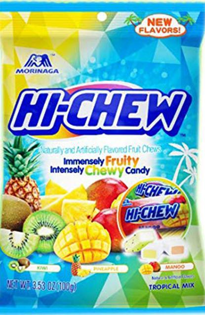 Hi-Chew Tropical Mix 3.53oz Bag