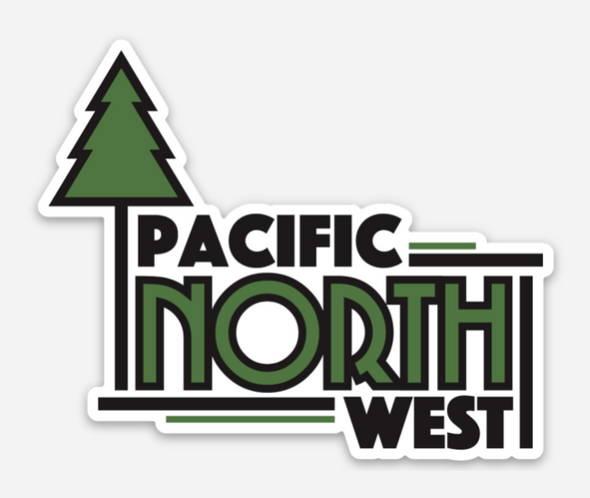 Pacific North West Sticker