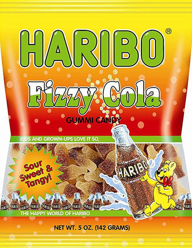 Haribo Fizzy Cola Bottles 5oz Bag
