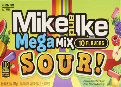 Mike and Ike Mega Mix Sours