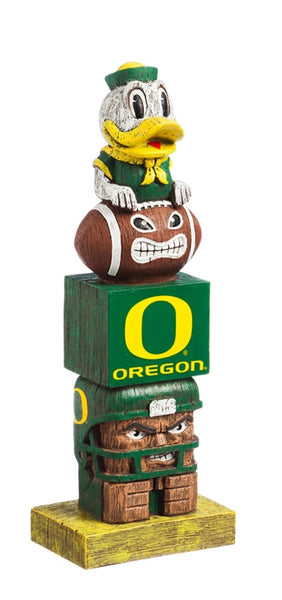 University of Oregon Ducks Tiki Totem Pole