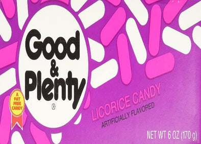 Good & Plenty Theater Box 6oz