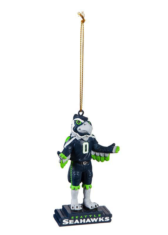 Seattle Seahawks Mascot Ornament