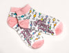 Adult Taffy Pieces Ankle/Crew Socks