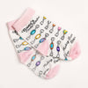 Youth Taffy Pieces Socks