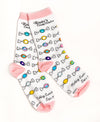 Adult Taffy Pieces Trouser Socks