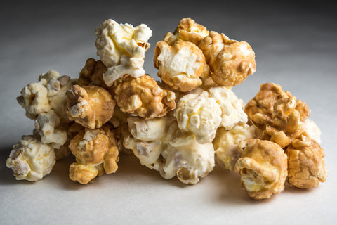 White Chocolate Peanut Butter Popcorn