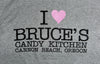 I ♥ Bruce's Candy Kitchen T-shirt