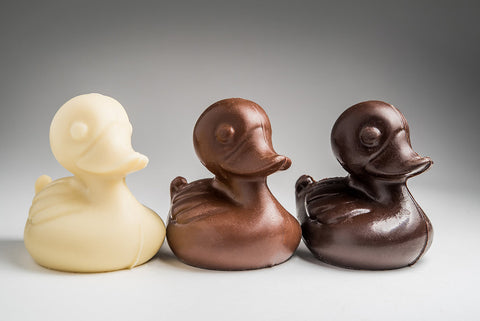 "Chocolate ""Rubber"" Ducky"