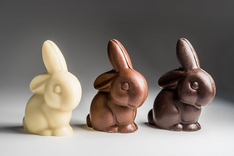 Small Floppy Chocolate Bunny