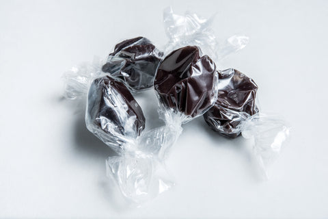 Licorice Sea Salt Caramels