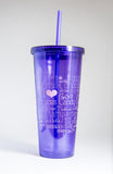 Taffy Filled Sweet Memories Acrylic Cup