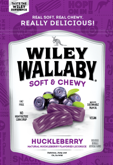 Wiley Wallaby Huckleberry Licorice