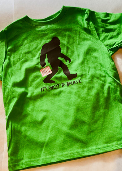 Bruce's Bigfoot T-shirt Toddler Sizes