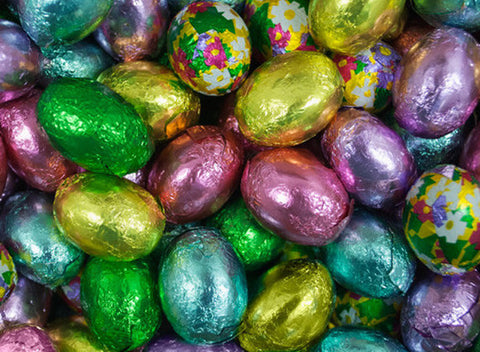Foil Wrapped Milk Chocolate Eggs