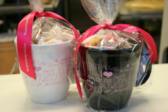 Taffy Filled Sweet Memories Mug
