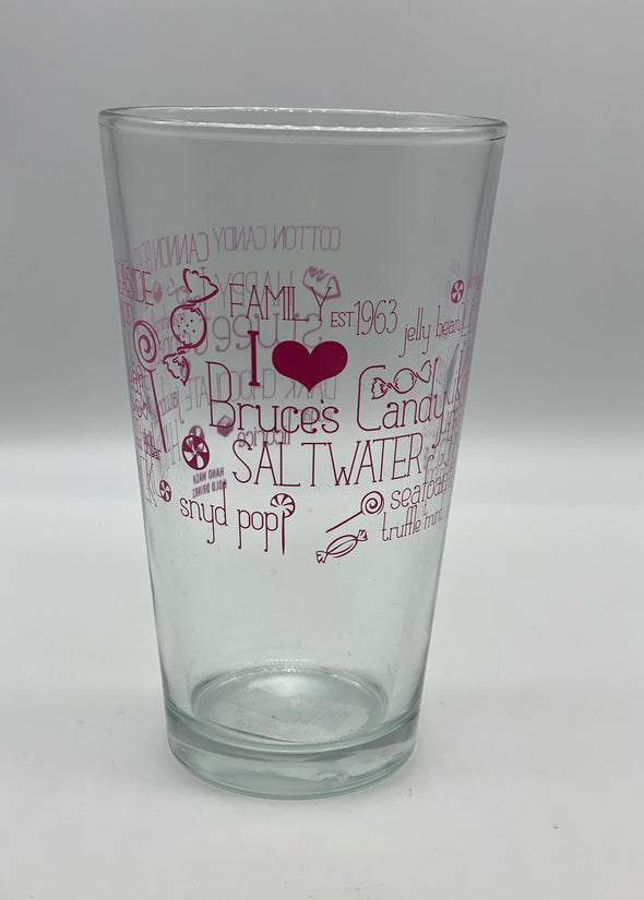 Bruce's Pint Glass