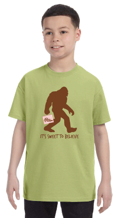 Bruce's Bigfoot T-shirt