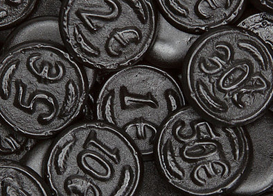 Licorice Coins