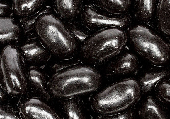 Black Licorice Jelly Beans