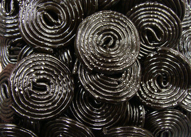 Broadway Black Licorice Wheels