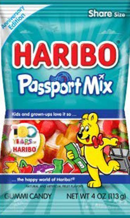 Haribo Passport Mix 4oz Bag