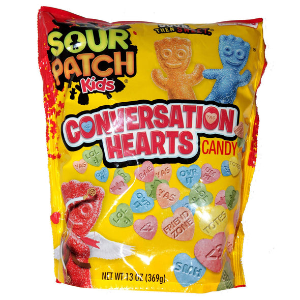 Sour Patch Conversation Hearts 13oz Bag