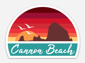 Cannon Beach Sticker