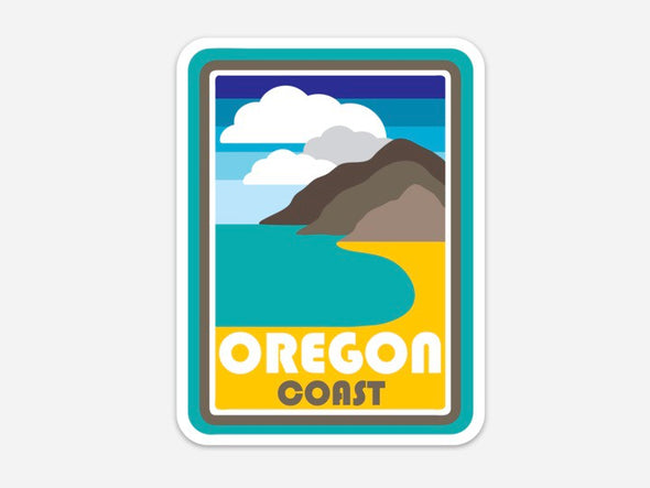 Oregon Coast-The Beach Sticker