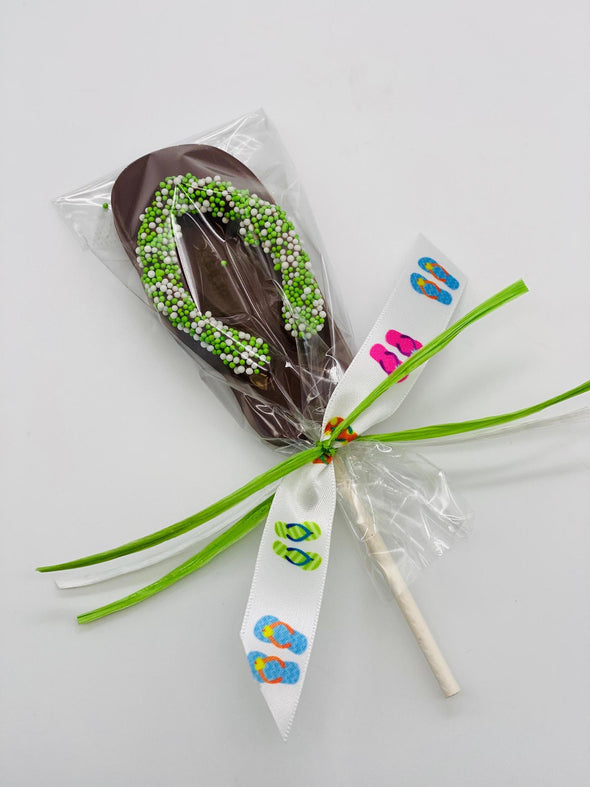 Chocolate Flip Flop Lollipop