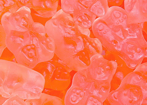 Pink Grapefruit Gummy Bears