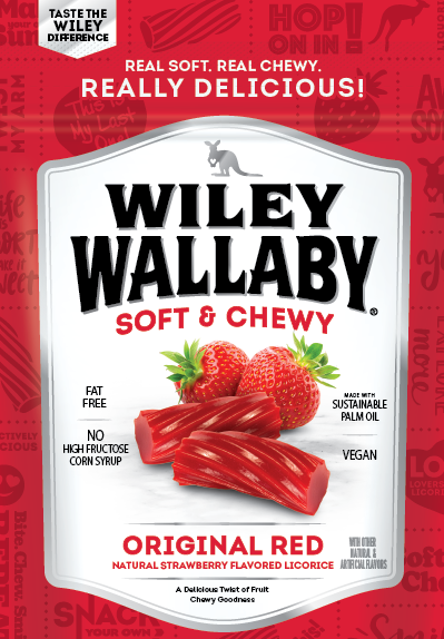 Wiley Wallaby Strawberry Licorice