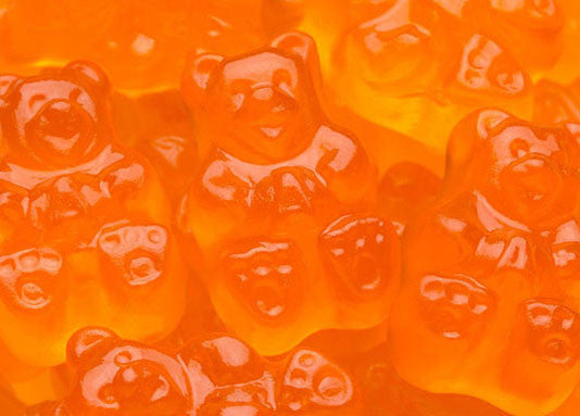 Orange Gummi Bears