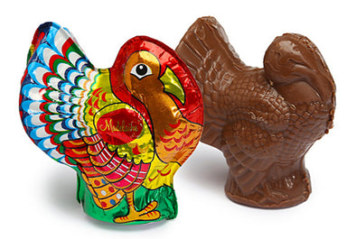 Milk Chocolate Semi Solid Foil Wrapped Turkey