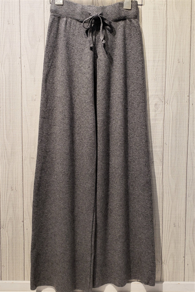 Knit Wide-Legged Pants