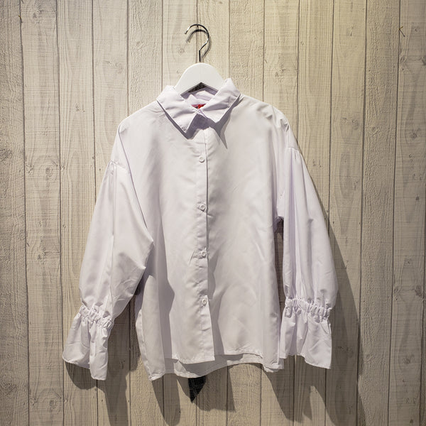 Gigot Sleeve Losse Fit Shirt