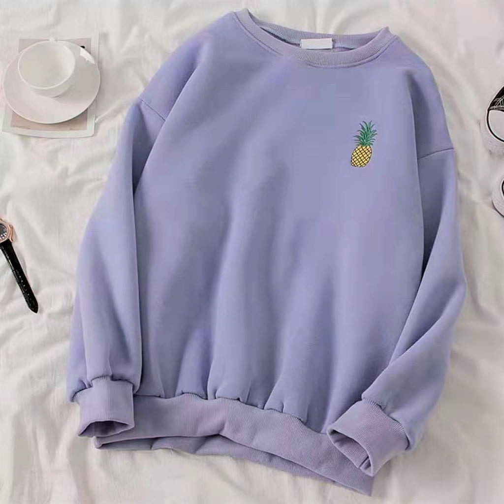 Graphic Embroidered Sweatshirt