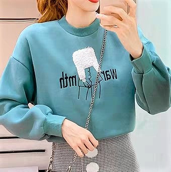Cartoon Print Round neck Sweatshirt