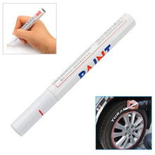 Load image into Gallery viewer, Car Tyre Tire Metal Paint Pen Marker - White - Awesome Imports - 1