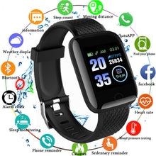 Load image into Gallery viewer, 116 PLUS Smart Bracelet D13 Heart Rate Blood Pressure Smart Watch - Open Box