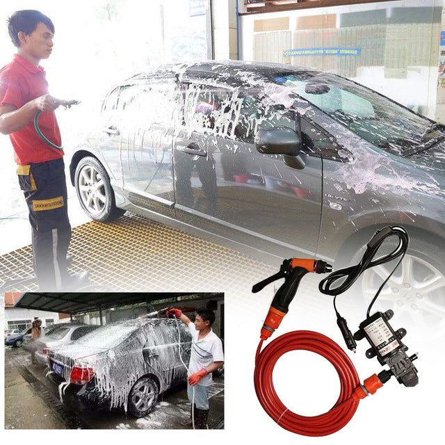 12V Electric Pump Car Washer