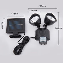 Load image into Gallery viewer, 22 LED Solar Powered PIR Motion Sensor Security Light