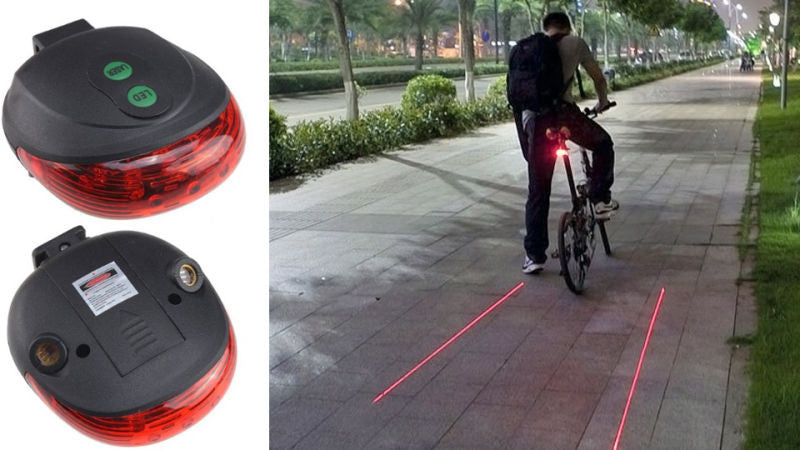 Bicycle LED Lane Indicator Back Light with flashing function - Awesome Imports - 1