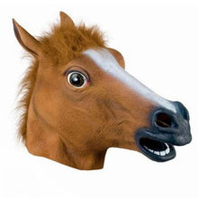 Load image into Gallery viewer, Horse Latex Mask