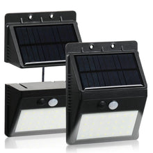 Load image into Gallery viewer, Mihuis 28 LED Detachable Solar Motion Sensor Security Outdoor Wall Floodlight