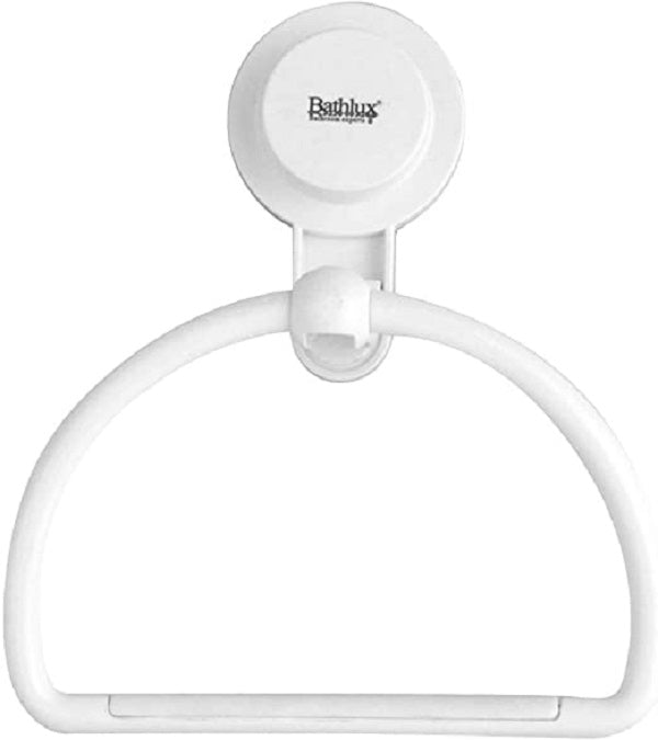 Bathlux Single Towel Rack With Suction Cup