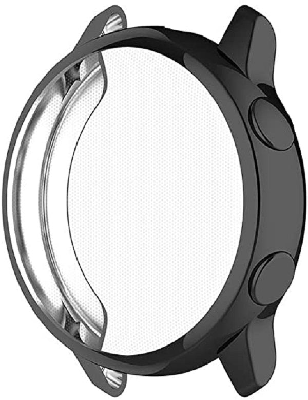 TPU Protective Cover Frame for Samsung Galaxy Watch Active SM-R500 - Black